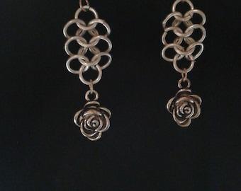 Handmade Chainmaille earrings