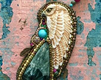 Egypt Horus Hawk Necklace