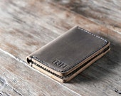 Wallet, Leather Wallet, Personalized Leather Wallet, Front Pocket Wallet, Slim, Minimalist Credit Card Wallet, Mens Leather Wallets #051