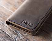 iPhone 7 Plus Case, PERSONALIZED Leather iPhone Case, Leather iPhone 7 Case, Gifts, Personalized iPhone 7 PLUS Case, Phone Case #055
