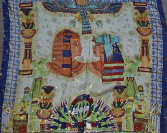 Pure silk Eygyptian Scarf