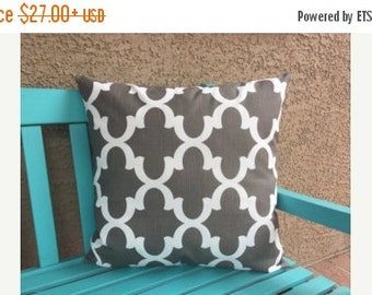 Throw Pillow Covers Set of three-Brown and Teal Pillow Covers for Couch