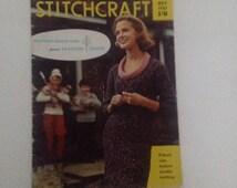Vintage Stitchcraft Knitting and Stitching Magazine November 1961