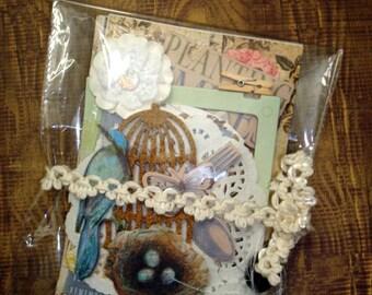 BITS & BOBS Scrap Pack- Holidays, Paper Piecing, Crafts, Scrapbooking, Project Life-Inspiration Kit-Scrapbook Kit-Journals-Diy Crafts