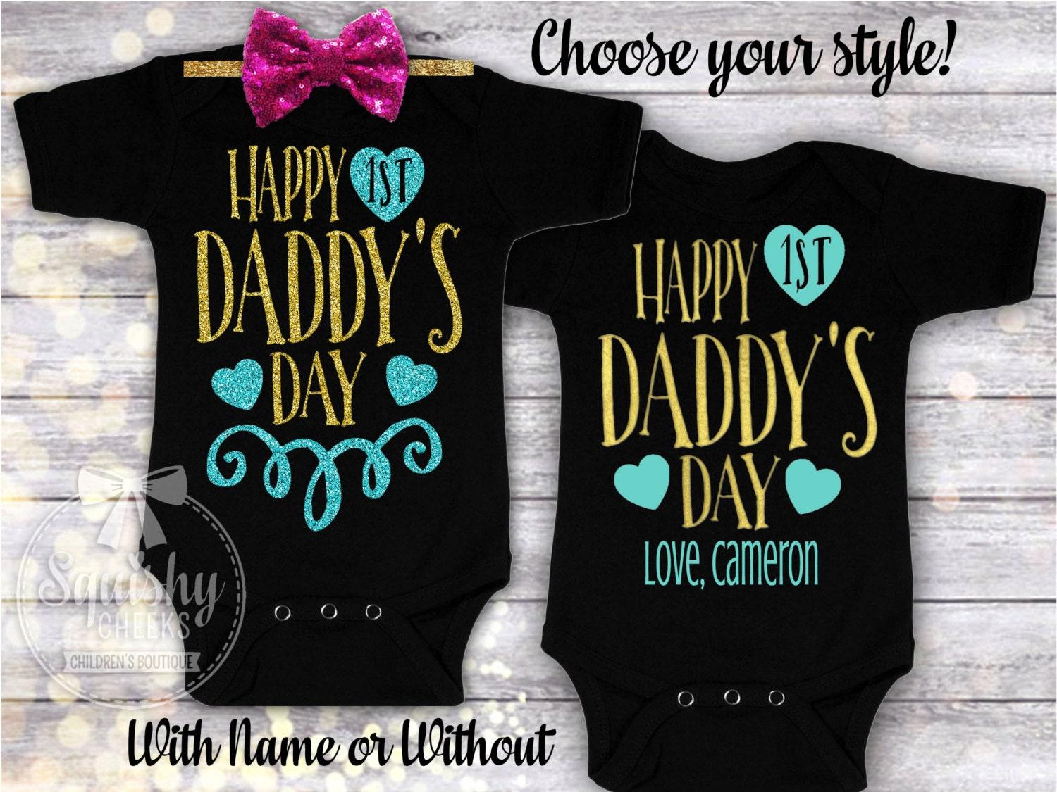 1st Father 39 S Day Father 39 S Day Gift From Baby Boy Or