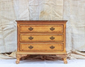 Marble Chest of Drawers