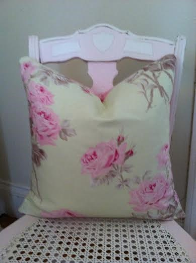 Cottage Chic Pillow Cover Shabby Chic Tanya Whelan French