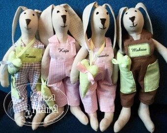 Rabbit Bunny Handmade Tilda