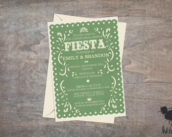 Fiesta Invitation (25 Invitations)