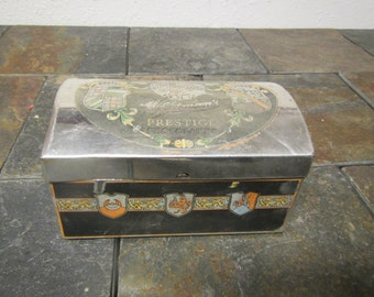 WHITMAN'S Prestige Chocolates Tin, Treasure Chest Design, advertising, treasure box