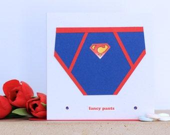 Fancy pants Valentine's card
