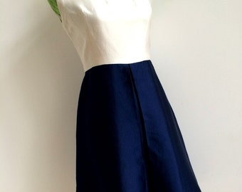 1960s Couture - Léonor Barral, Paris Dress (S Fit)