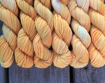 Pretty Toes mini skein: Safety First
