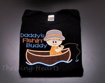 Father's Day shirt! Daddy's Fishin' Buddy.