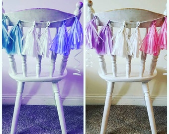 chair tassels pack of 4, wedding party birthday  babyshower sweet 16 christmas table decorations