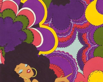 Alexander Henry - Soul Sisters - Item #5494F - Purple
