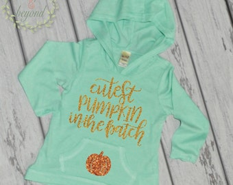 Baby Halloween Outfit Pumpkin Patch Outfit Cutest Pumpkin in the Patch Outfit for Baby Girl Fall Birthday Outfit Halloween, Thanksgiving 028