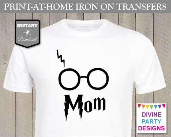 Instant download print at home mom printable iron on for Instant t shirt printing