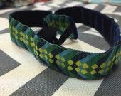 Geometric headband -stays in place-