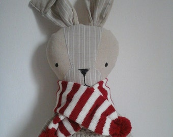 Winter Rabbit Plush