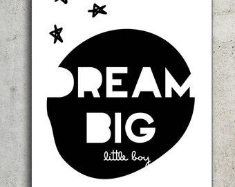 Poster dream big