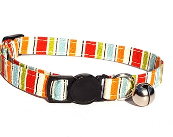 Orange and red stripe - quick release clasp