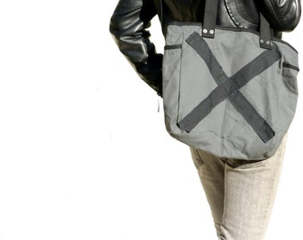 Canvas Tote Bag - Durable Canvas Shoulder Bag