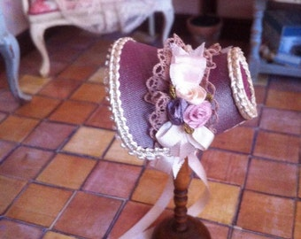 OOAK. Victorian Bonnet.