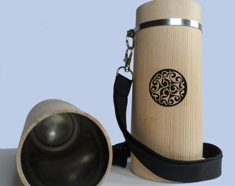 beer cups in wood