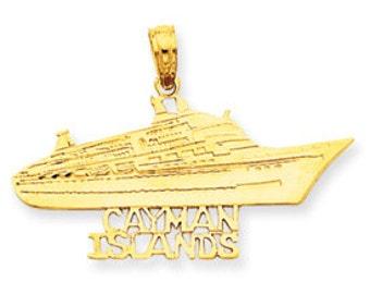 Cayman Islands Cruise Ship Charm (JC-650)