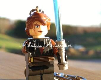 Anakin Skywalker Keychain/ Darth Vadar Zipper Pull/ Star Wars