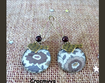 Earring liberty anjo brown