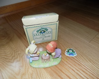 CABBAGE PATCH Kids 1985 Xavier Roberts Discovering New Life #5016 Collection Porcelain dolls CPK doll  box