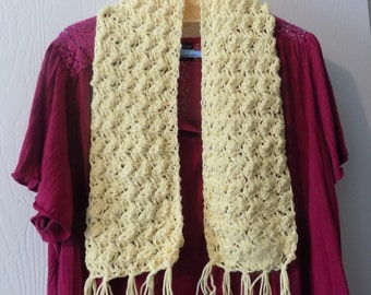 45---Butter Yellow Scarf