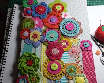 A4 decorated notebook