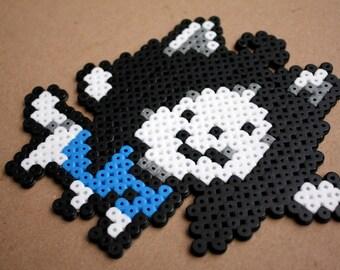Undertale Temmie Perler Hama Bead Sprite Pixel Art