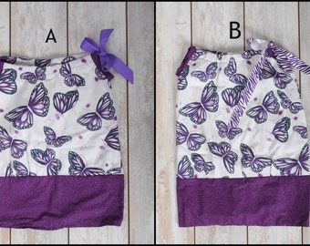 Butterfly pillowcase dress