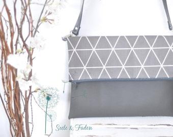 Jade - Foldover clutch