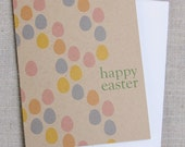 Happy Easter // Colorful Egg Mosaic // Modern Easter Card // Easter Greetings
