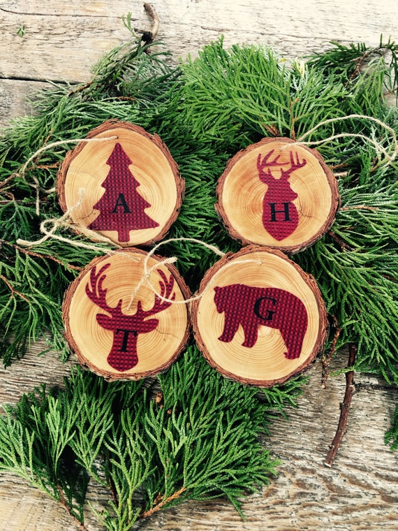 Deer Antler Christmas Ornaments