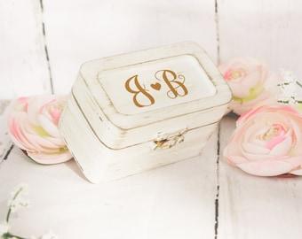 Ring Bearer box / Ring box,wedding ring box,rustic wedding,ring bearer box
