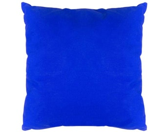 Azure Blue Coton Pillow Case