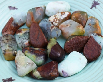 """CHRYSOPRASE """"Heart Healing Stone"""" Opens Heart Chakra, Let Go of Regret & Disappointment - Heal Your Wounded Heart"""