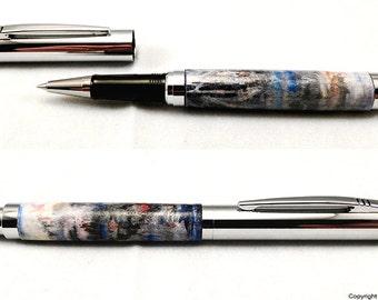 Luxury Rollerball Pen Artisan Series Abstract Art