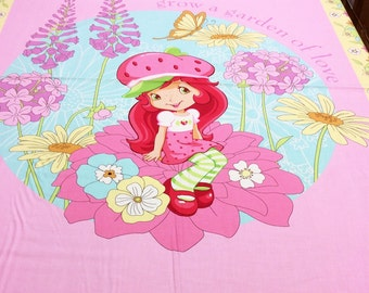 Strawberry Shortcake Panel 23555 SPX Patchwork Quilting Fabric