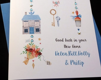 New Home Personalised Card