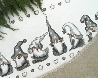 Christmas Tree Skirt Christmas Decoration Gnome Ornament Christmas Decor Scandinavian Christmas Gift Christmas Ornament Swedish Christmas