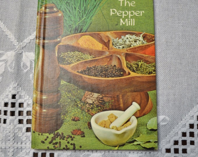 Vintage Cookbook The Pepper Mill Cookbook and Poetry 1972 Vintage Used Book PanchosPorch