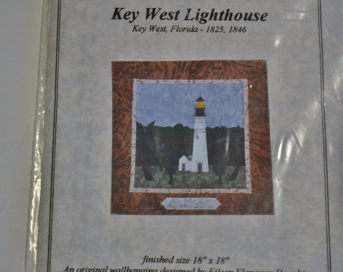 Key West Lighthouse Quilt Pattern Eileen Flanagan Doughty Sewing Quilting PanchosPorch