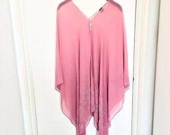Pink Jewel Kaftan